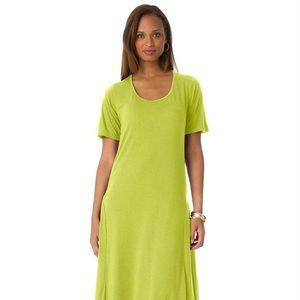 e09e325465a Jessica London Dresses - 💚 Citron Tee Shirt Maxi Dress